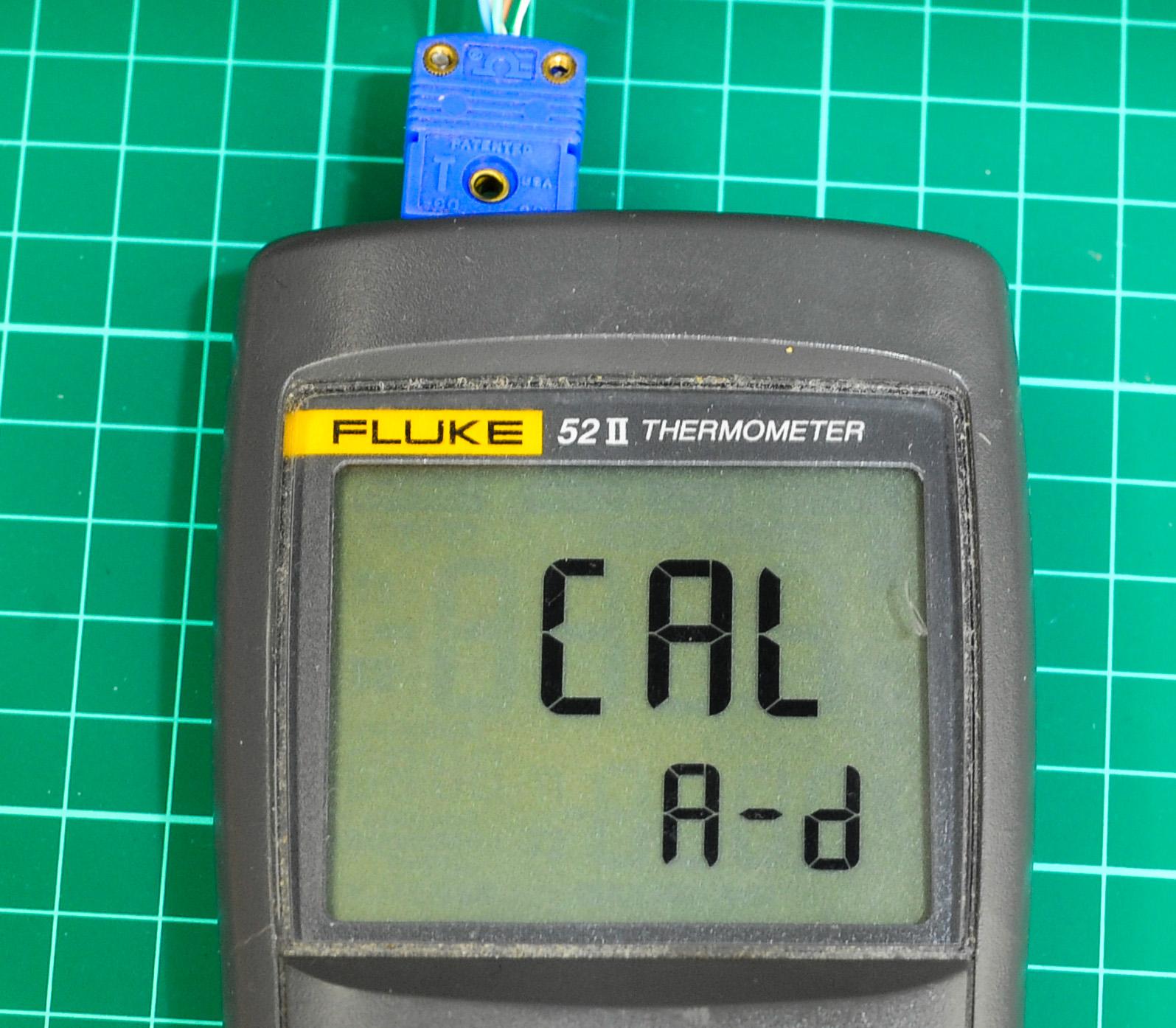 xDevs com | Fluke 52 II thermometer calibration tutorial