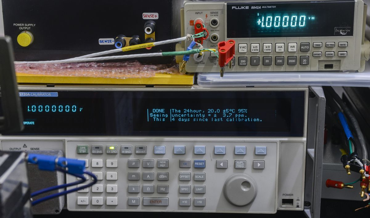 xDevs com | Fluke 8842A repair and calibration