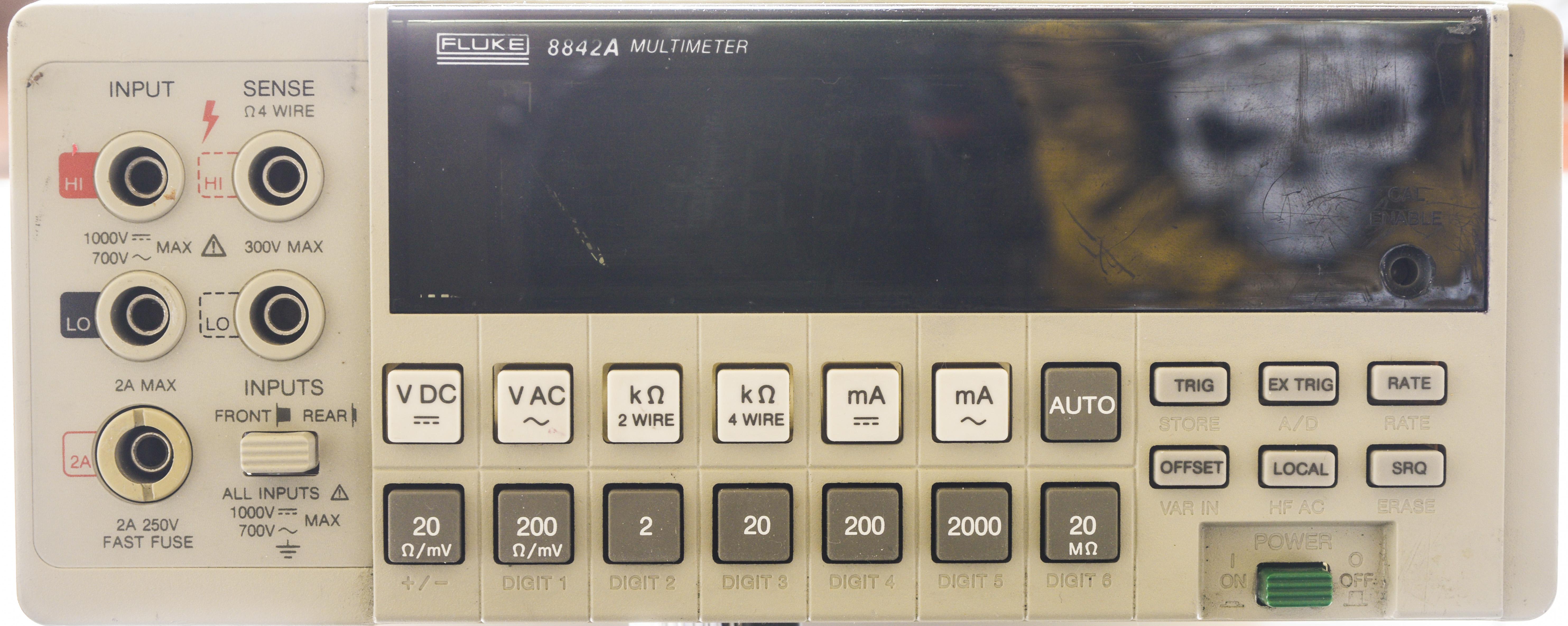 xDevs com | Fluke 8842A repair and calibration