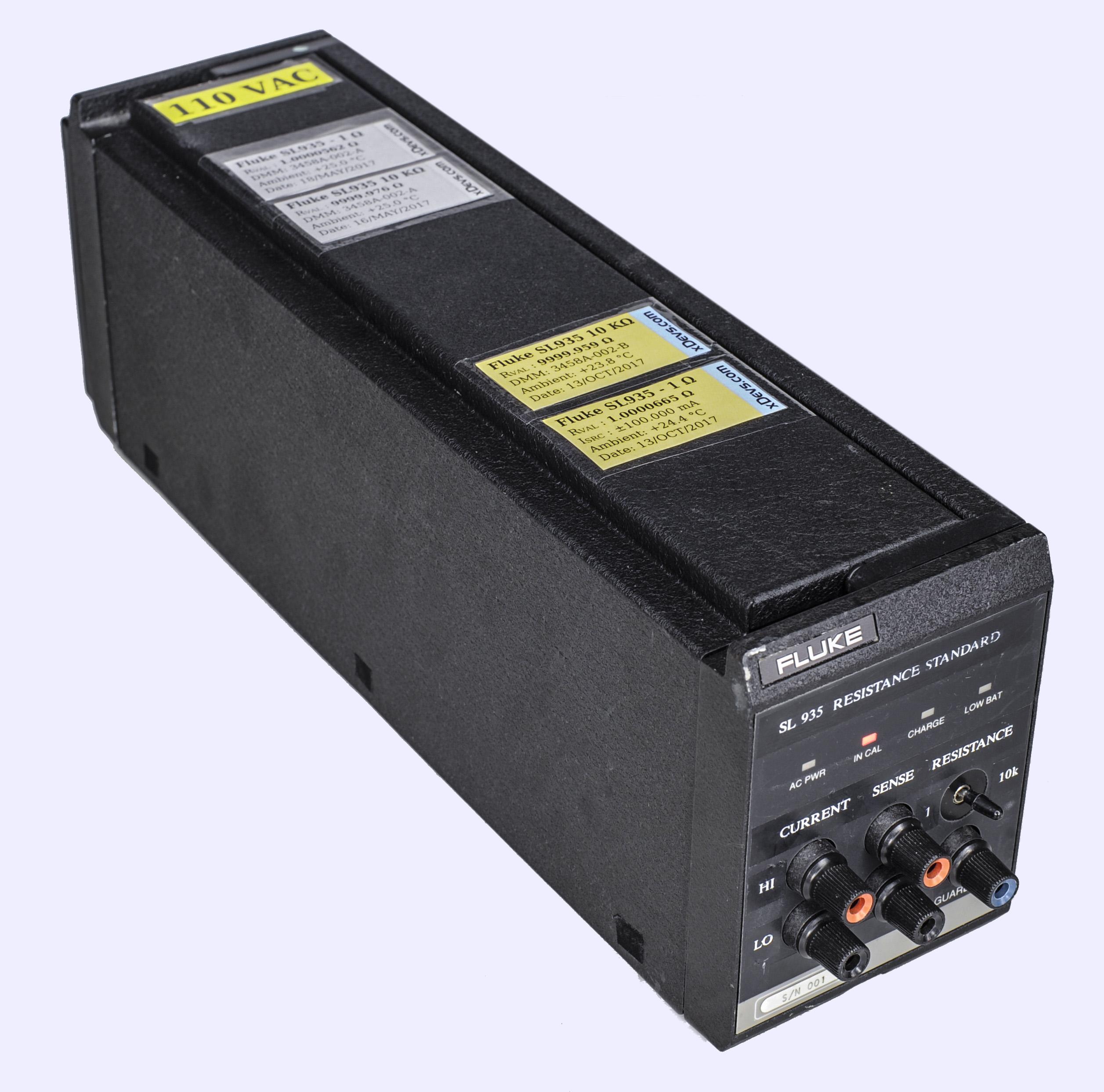 xDevs com   Fluke SL935 heated resistance standard prototype