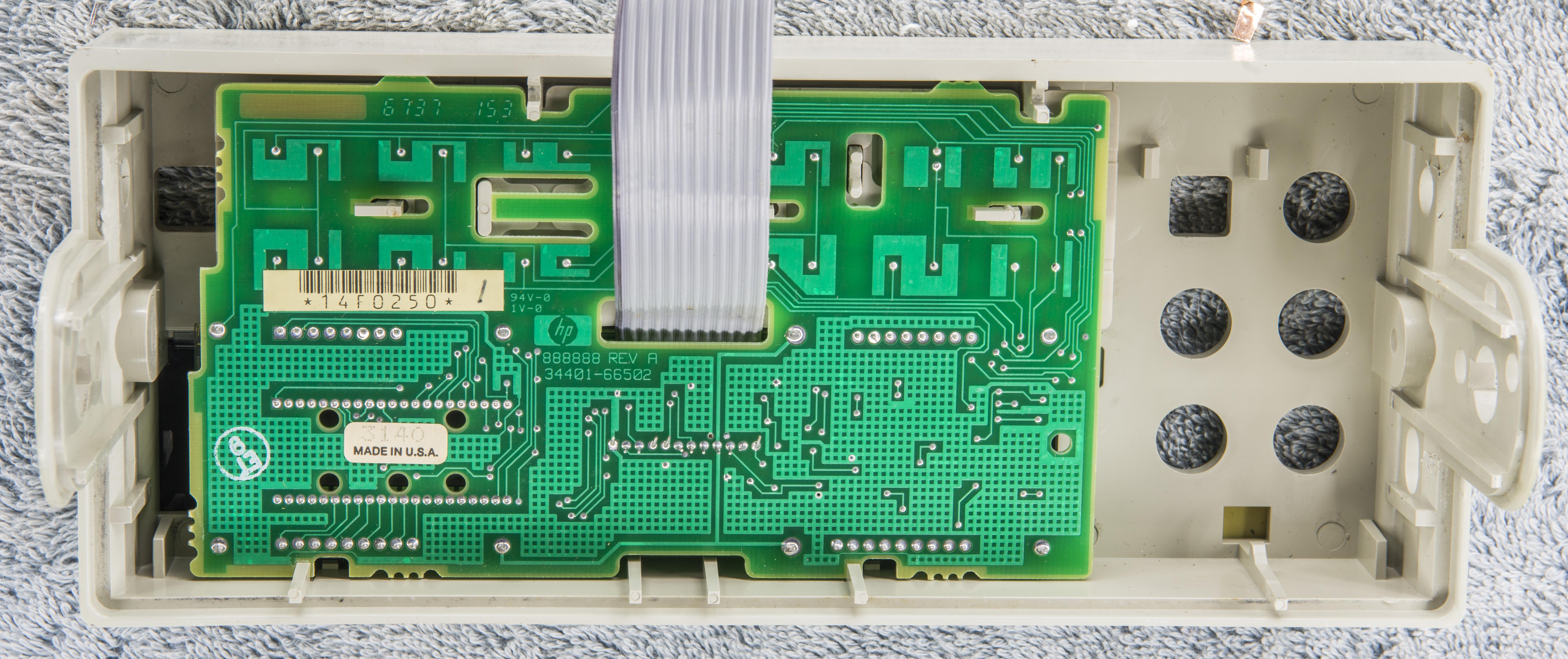 xdevs com hp 34401a repair and calibration worklog rh xdevs com Agilent 34401A Pads LabVIEW Agilent 34401A