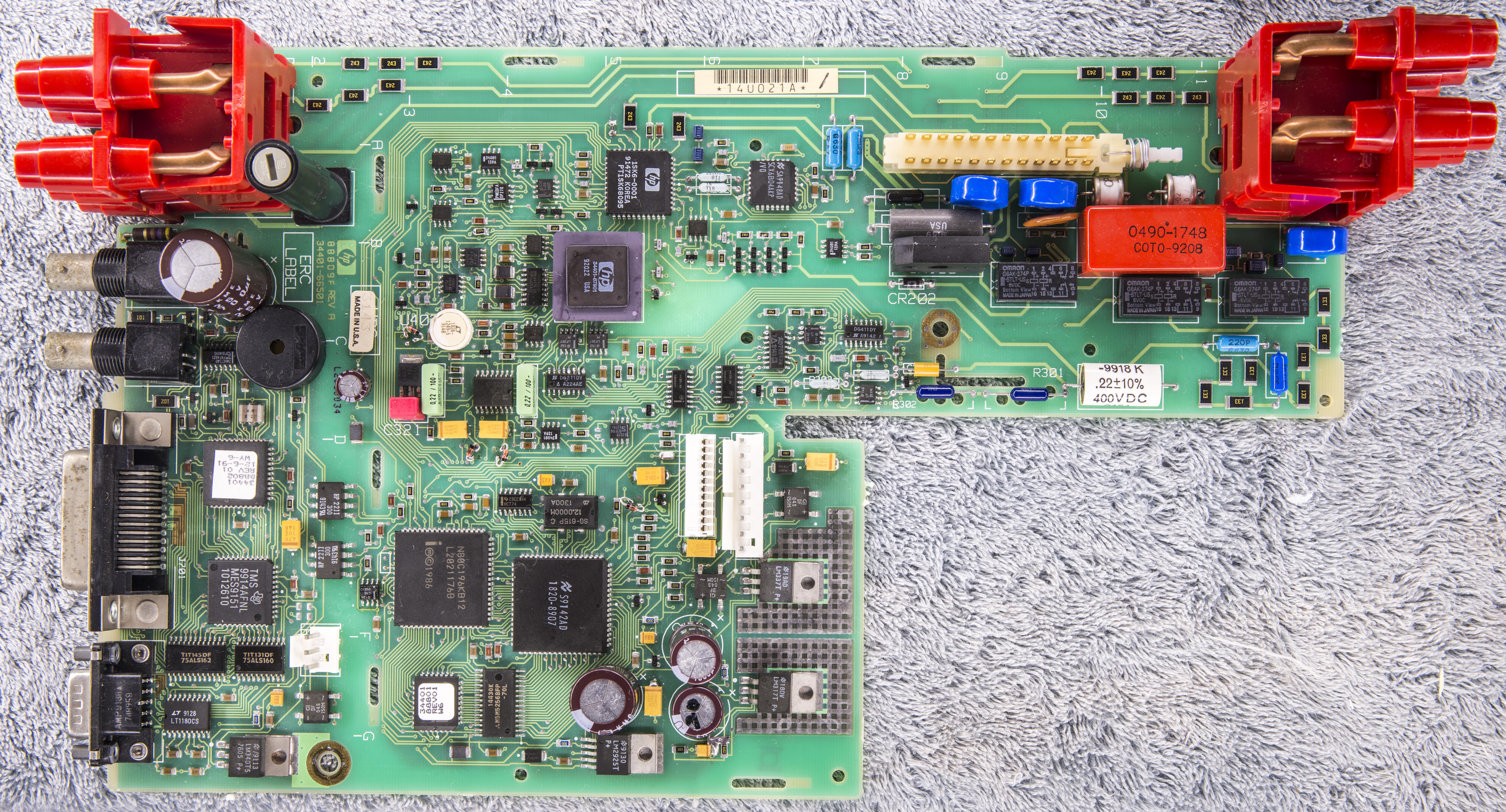 xdevs com hp 34401a repair and calibration worklog rh xdevs com Agilent 34401A Pads Agilent 34401A Driver