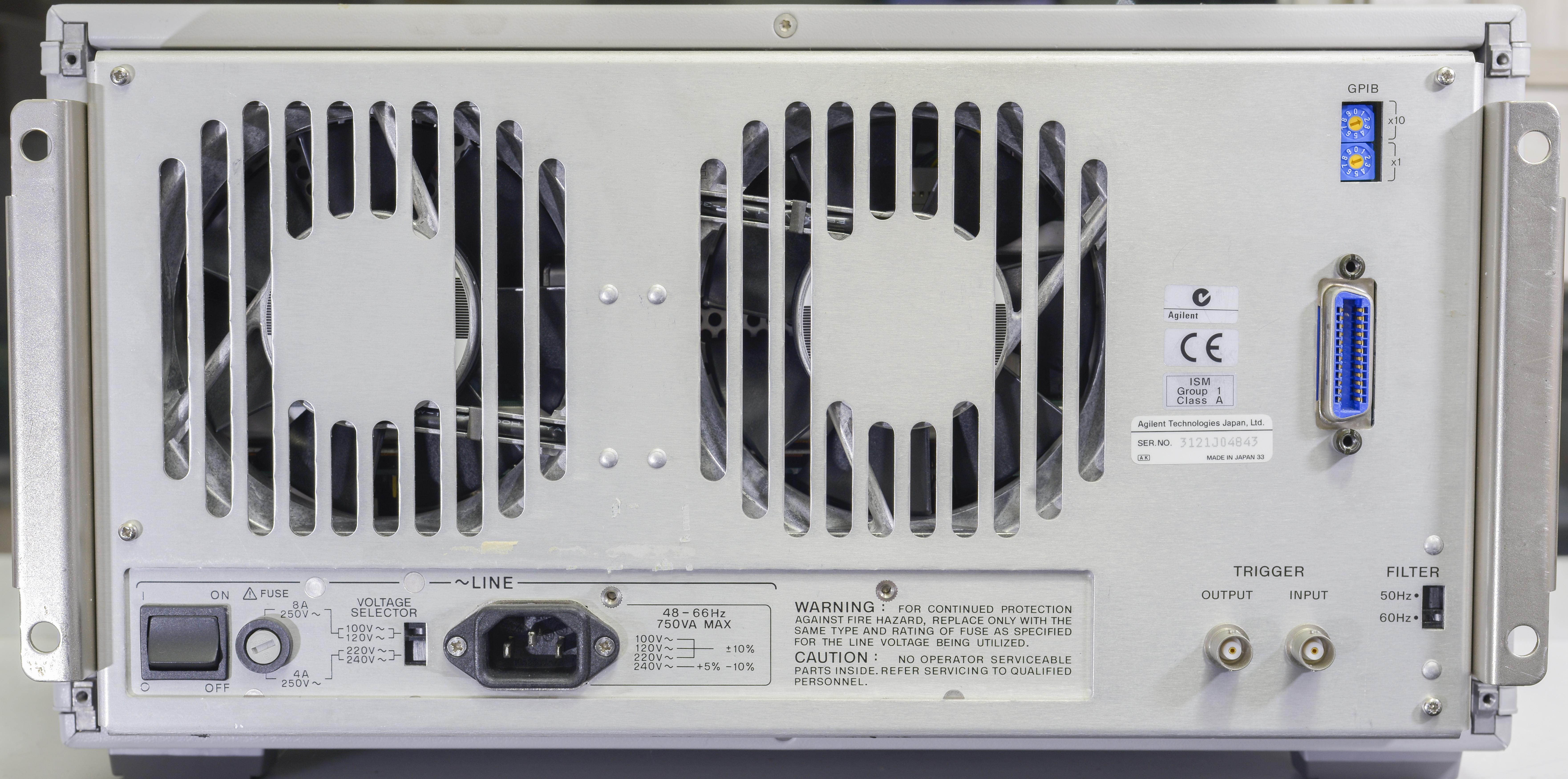 teardown agilent 4142b semiconductor dc test mainframe smu page 1 rh eevblog com hp4142b manual HP All in One Desktop Manuals