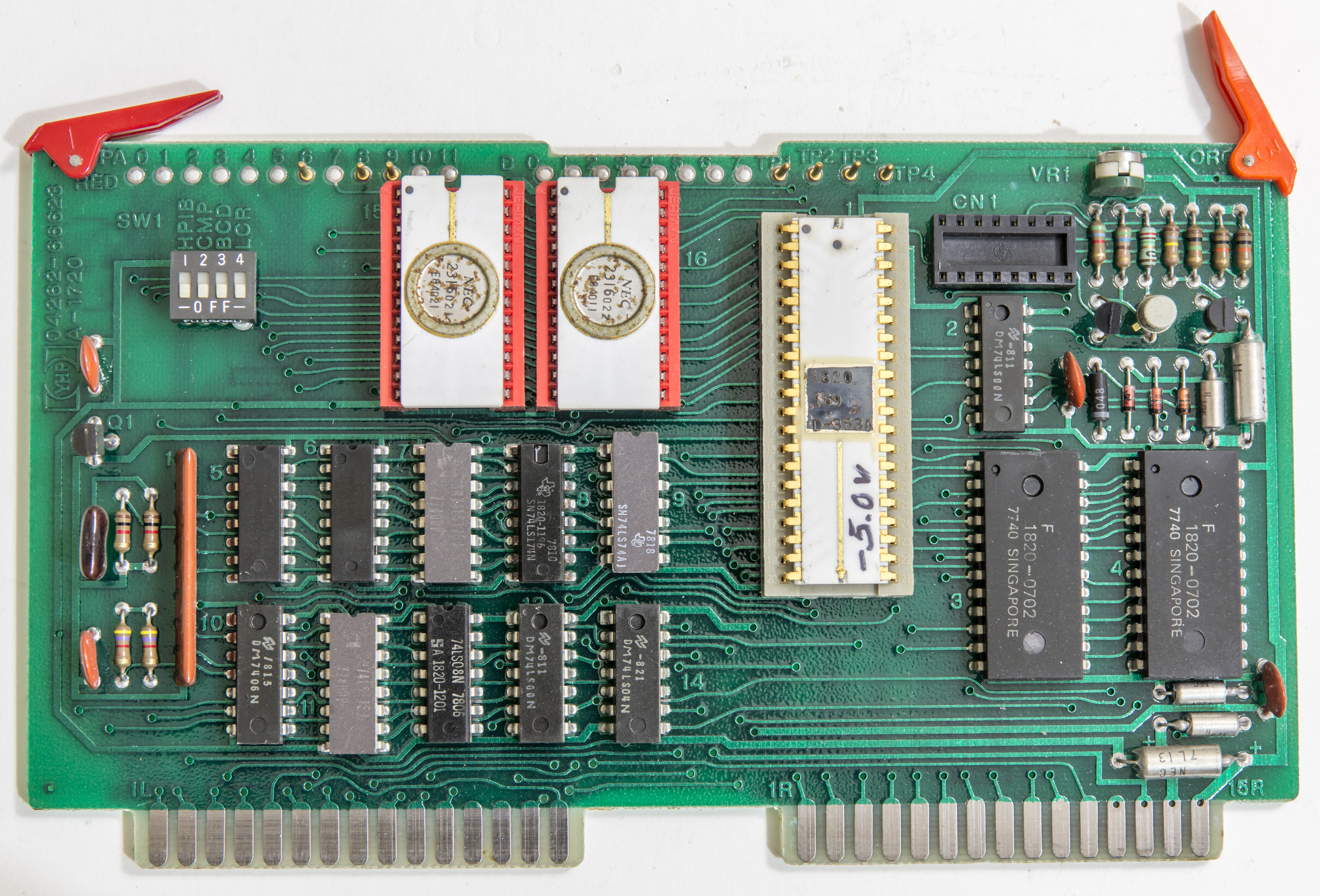 Hp 4262a Lcr Meter Restoration And Testing Linear Inductance Circuit Schematic A23 Processor Rom Pcba