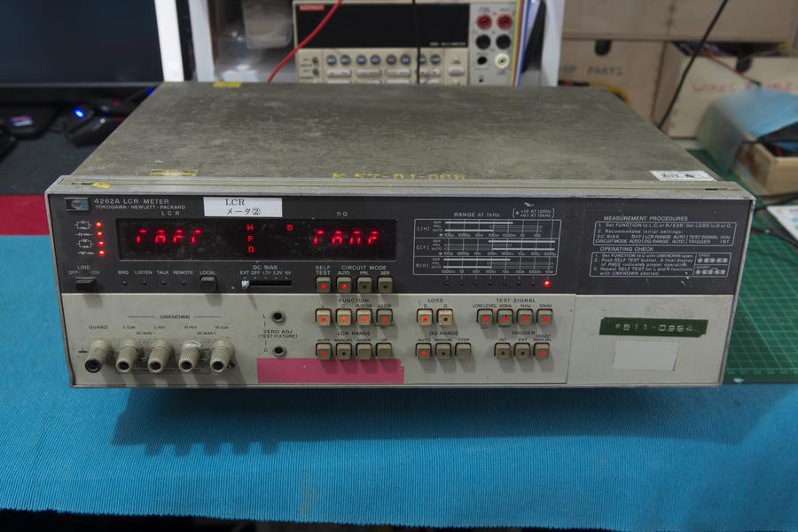 Hp Lcr Meter : Restoration hp a lcr meter page