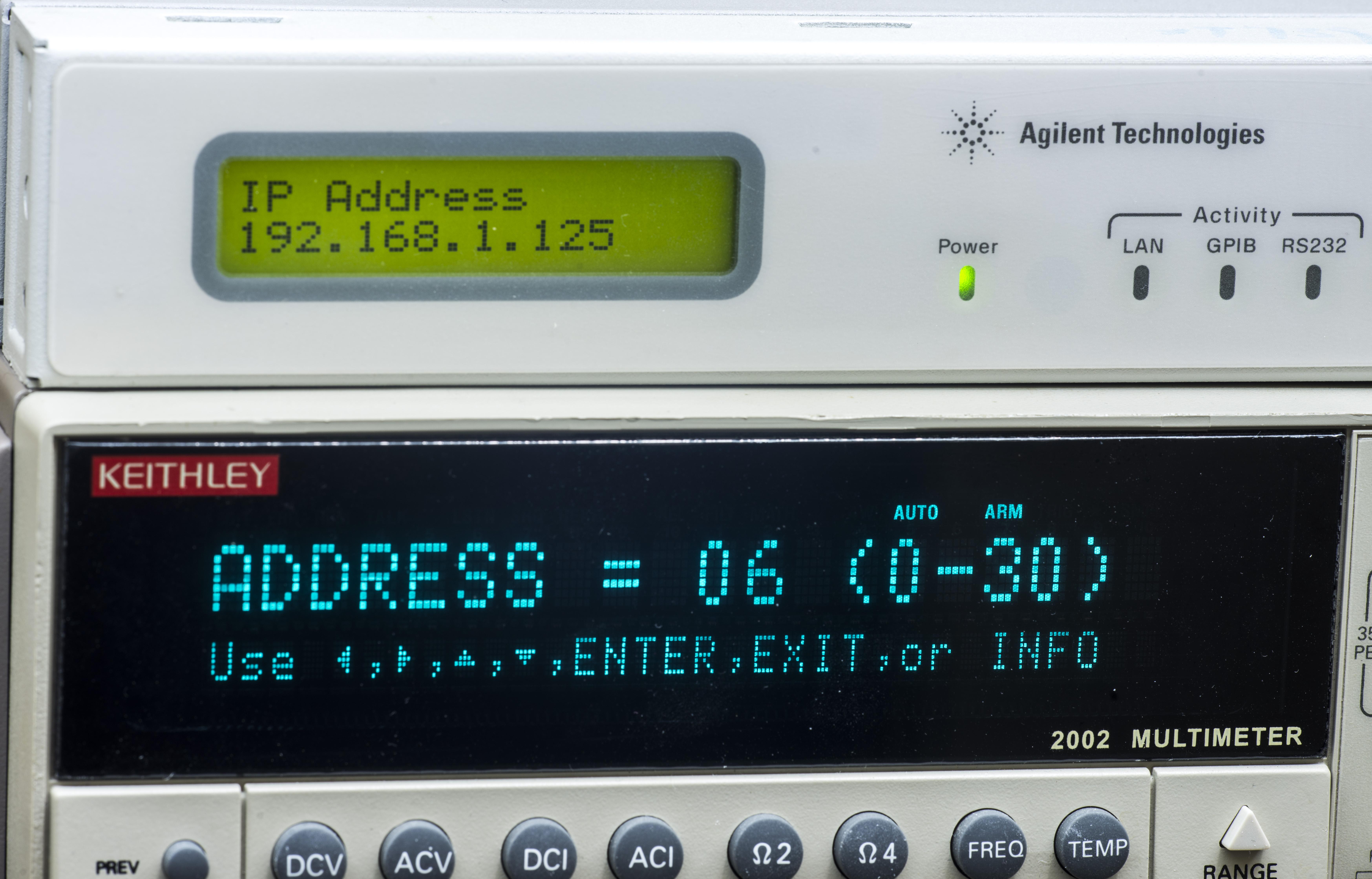 xDevs com | Using Agilent/Keysight E5810A with python