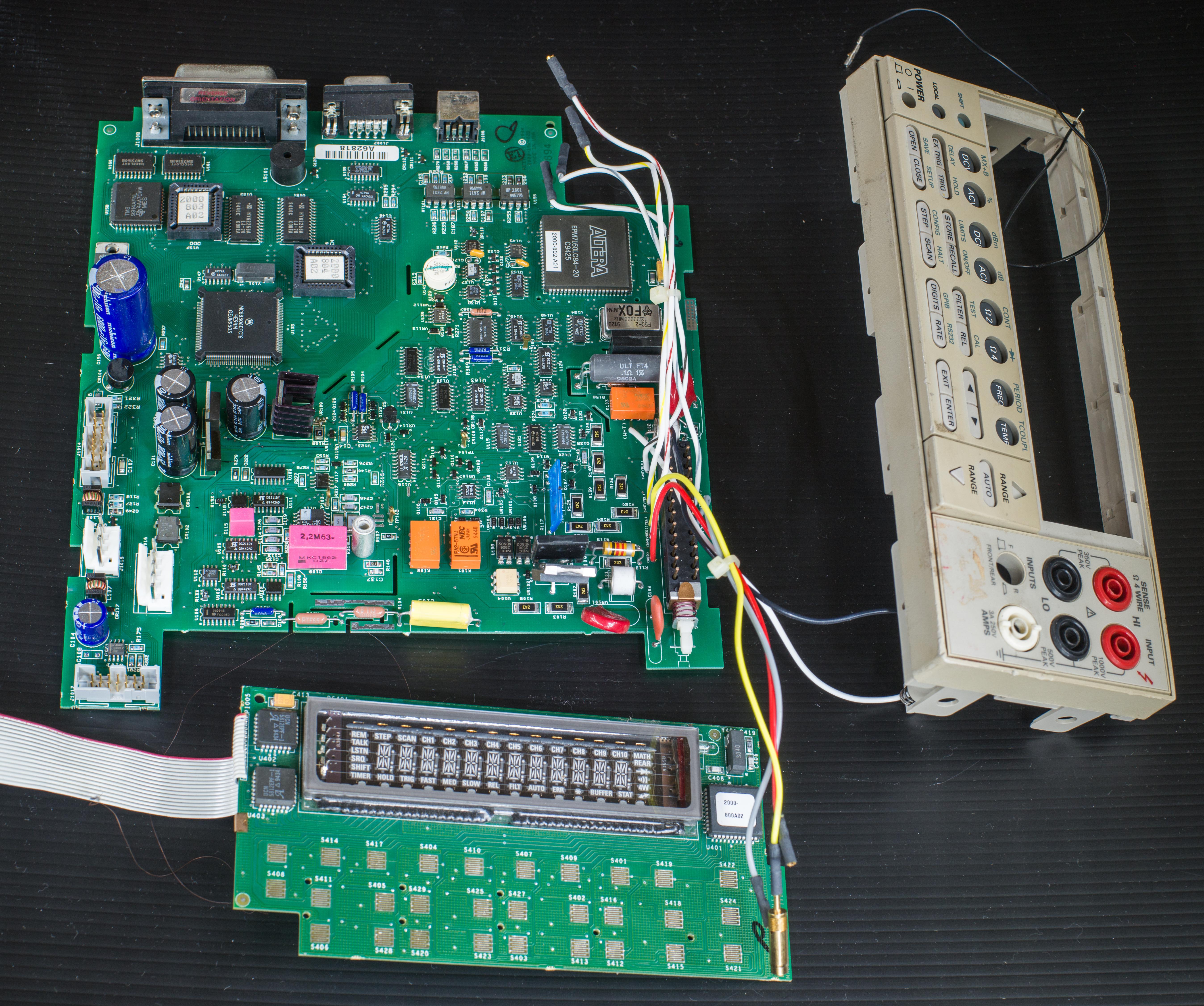 xdevs com keithley model 2000 dmm repair log rh xdevs com Keithley 2000 Multimeter Keithley 2000 Part Number