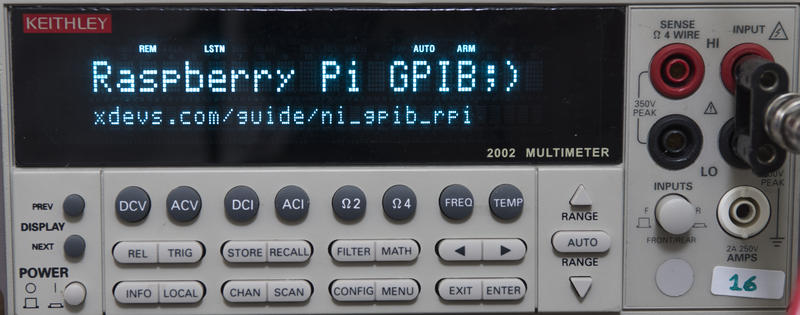 xDevs com | Setting up and using NI USB-GPIB-HS in Raspberry Pi Linux