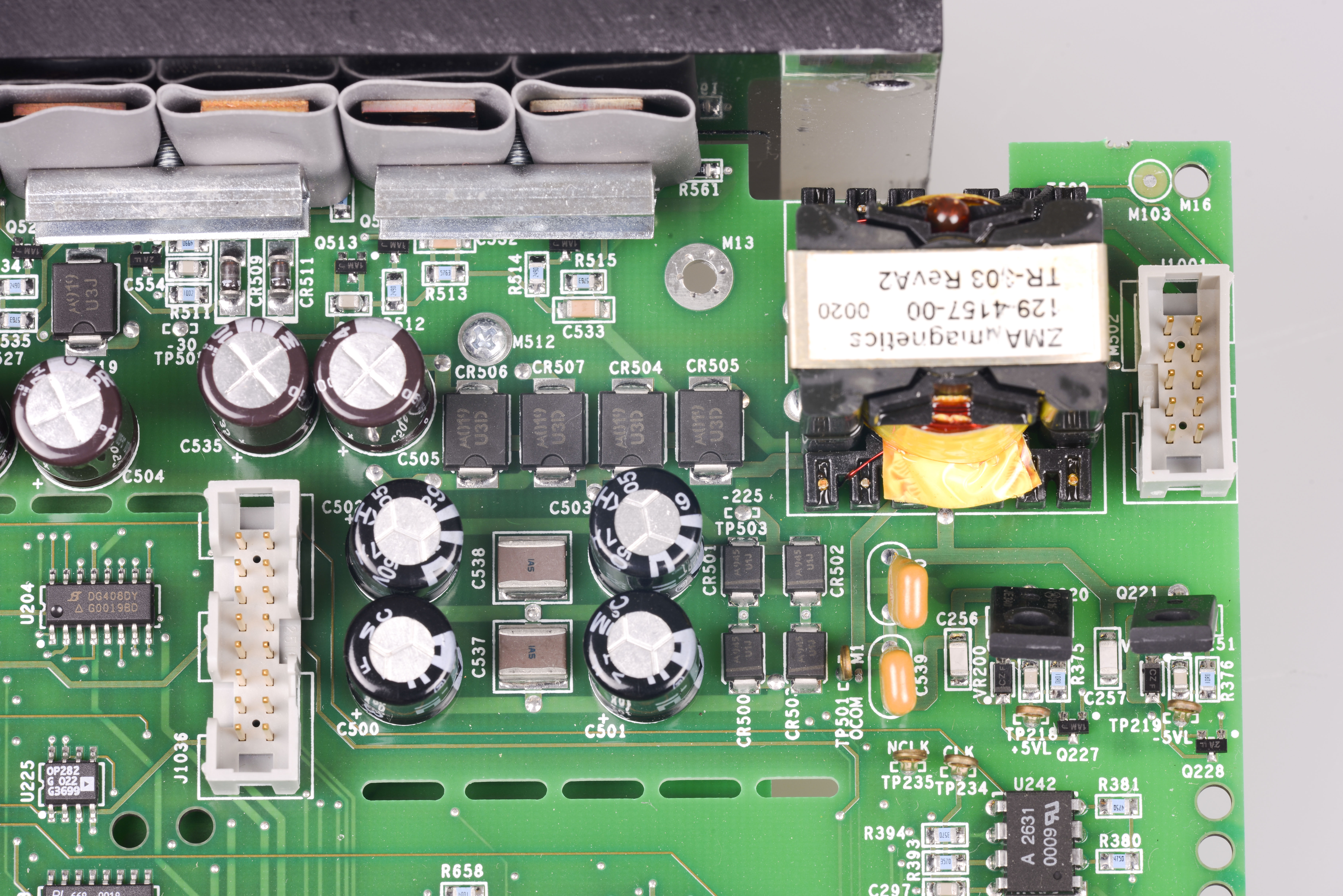 Keithley Model 2400 Review And Vfd Repair Connection Running Explicitly From The Power Supply To Opamp There Is Tp232 Test Point Just Near Serial Number Sticker Marked As Vref Tho Its Connected Lt1097 Output U226 Stage Source