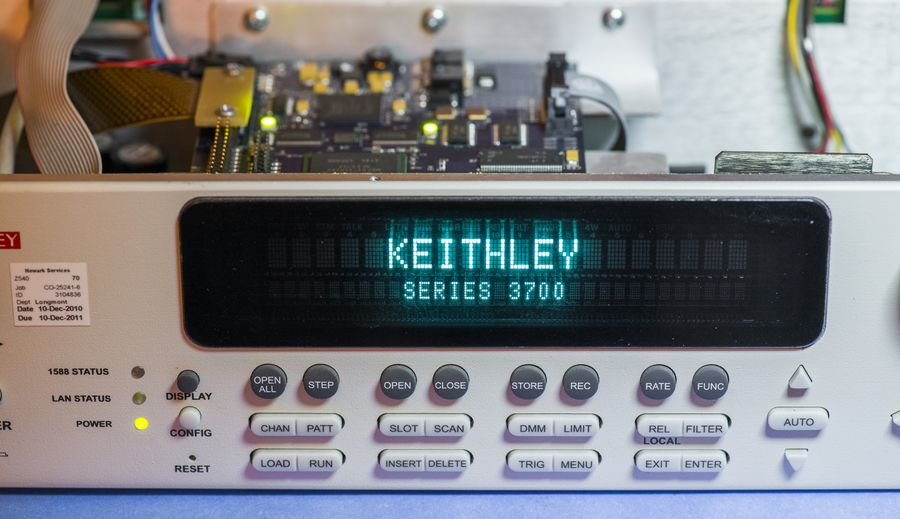 Xdevs Com Teardown Of Keithley Model 3706a Switch Scan Dmm