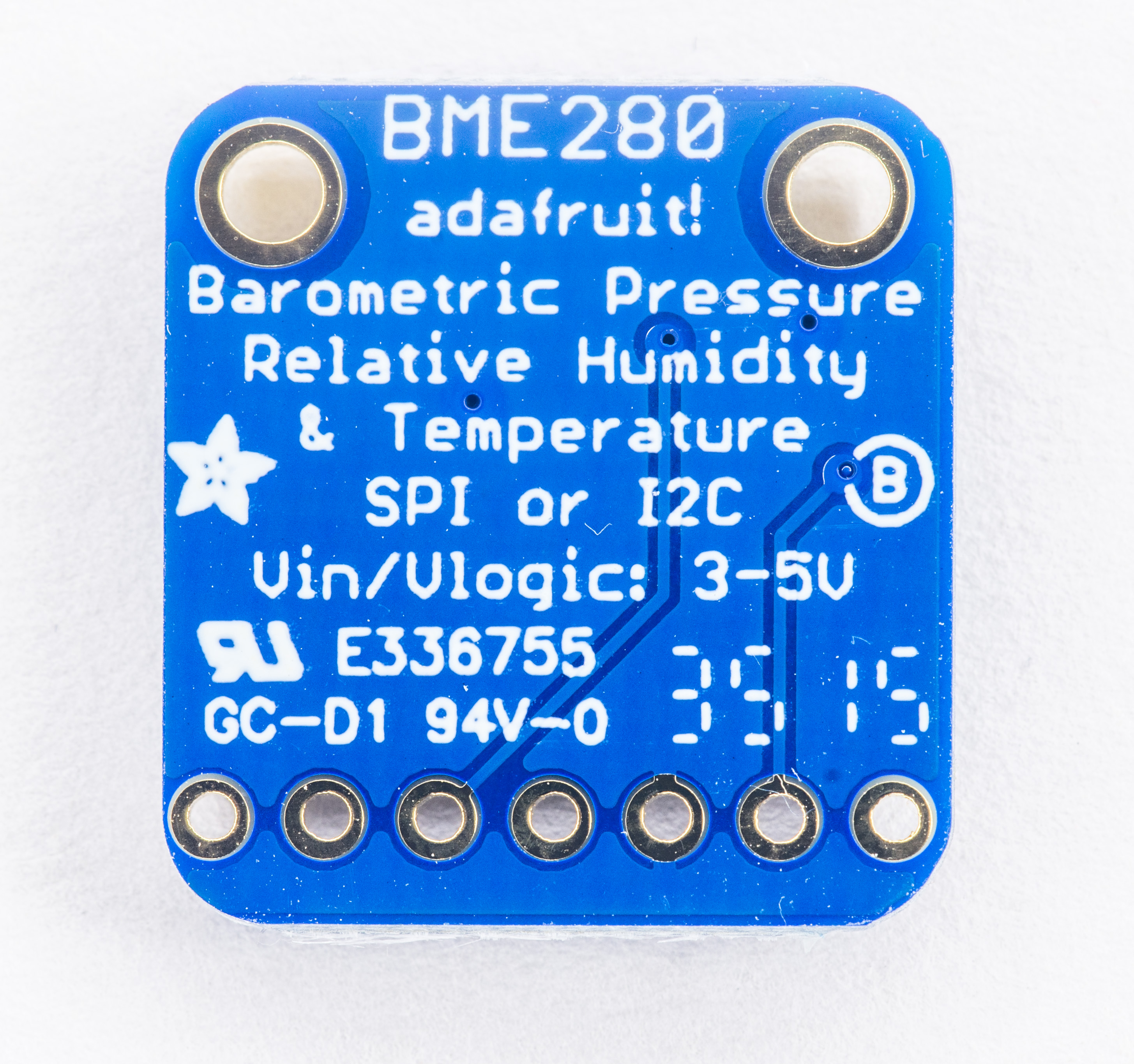 Using Bme280 Temperature Humidity Pressure Sensor With Wiringpi I2c Python Sparkfun Sen 13676 Demo Board