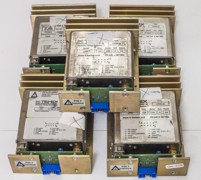 xDevs com | TEMEX Rubidium frequency standard repair and