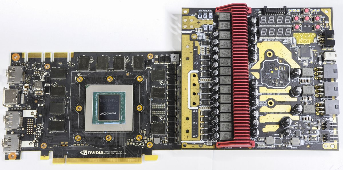 Main GPU VRM Circuitry Usually Located On The Right Side PCB Between And Power Input Connectors Its Easy To Spot One By Location Of Big High