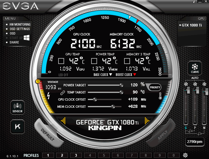 xDevs com | Extreme OC Guide for EVGA GeForce GTX 1080 Ti K|NGP|N
