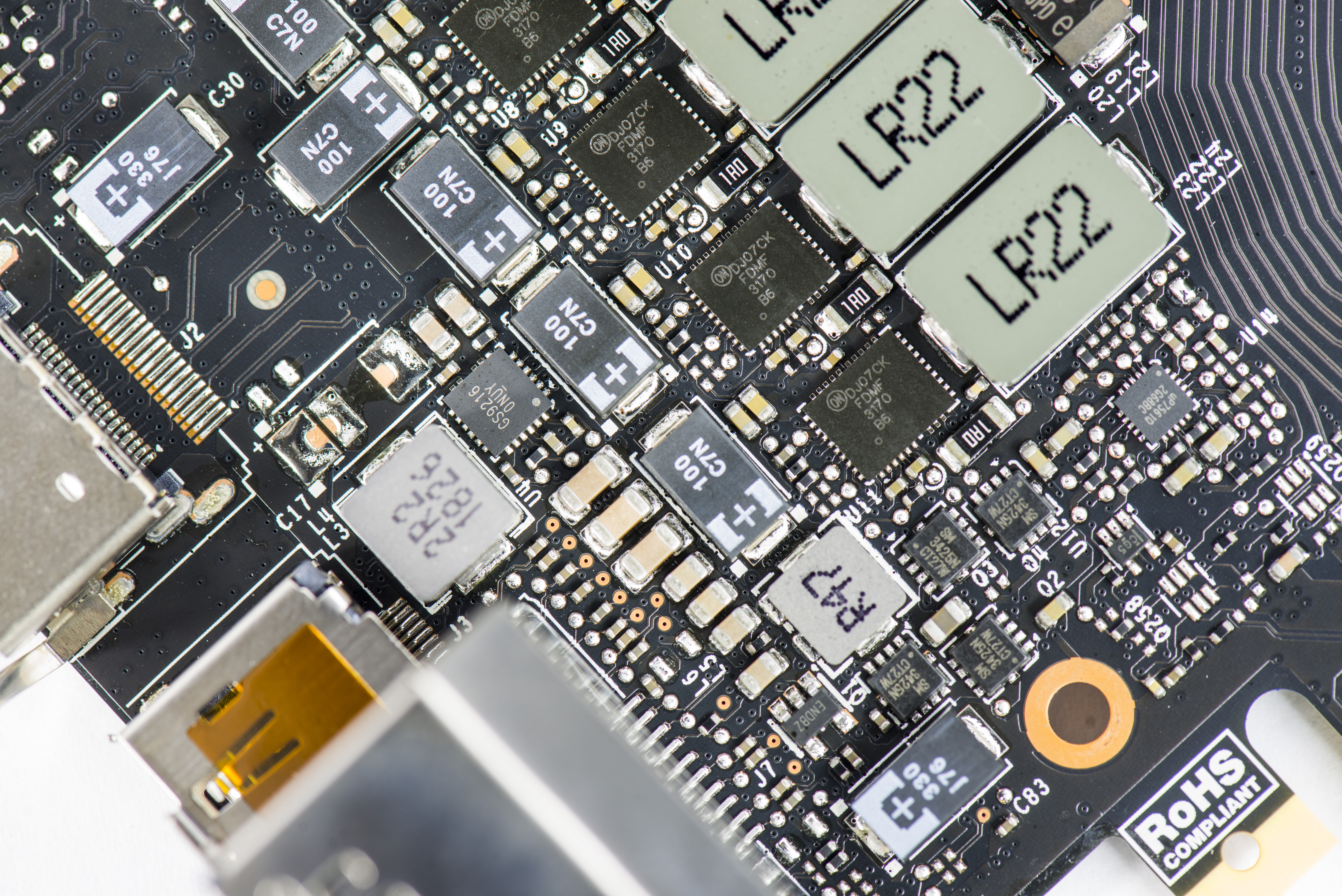 Teardown Of The Evga Geforce Rtx 2080 Ti Xc Ultra Circuit Board To Hold Your Memories This Creative Photo Frame Is Image 15 16 Power Components Near Display I O And New Rgb Enabled Dual Fan Header