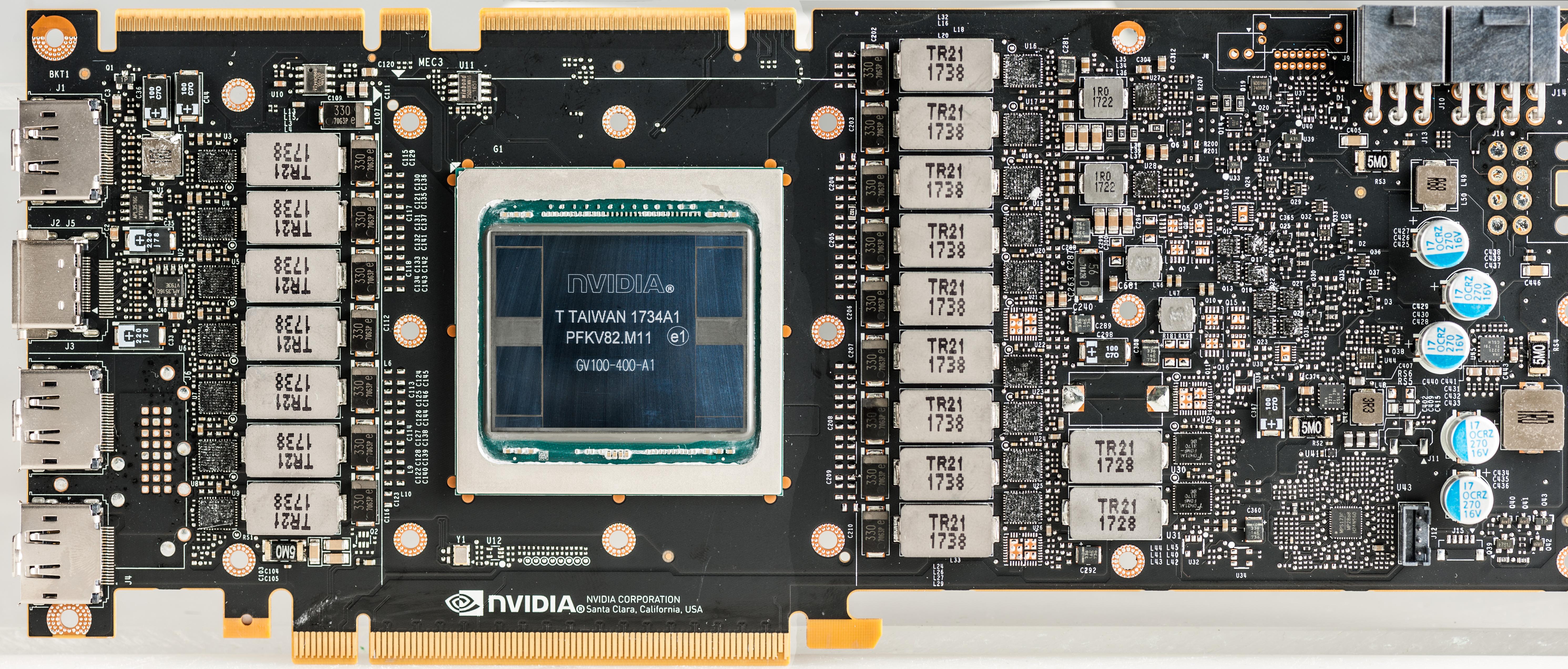 xDevs.com | Review of NVIDIA Titan V design and power ...