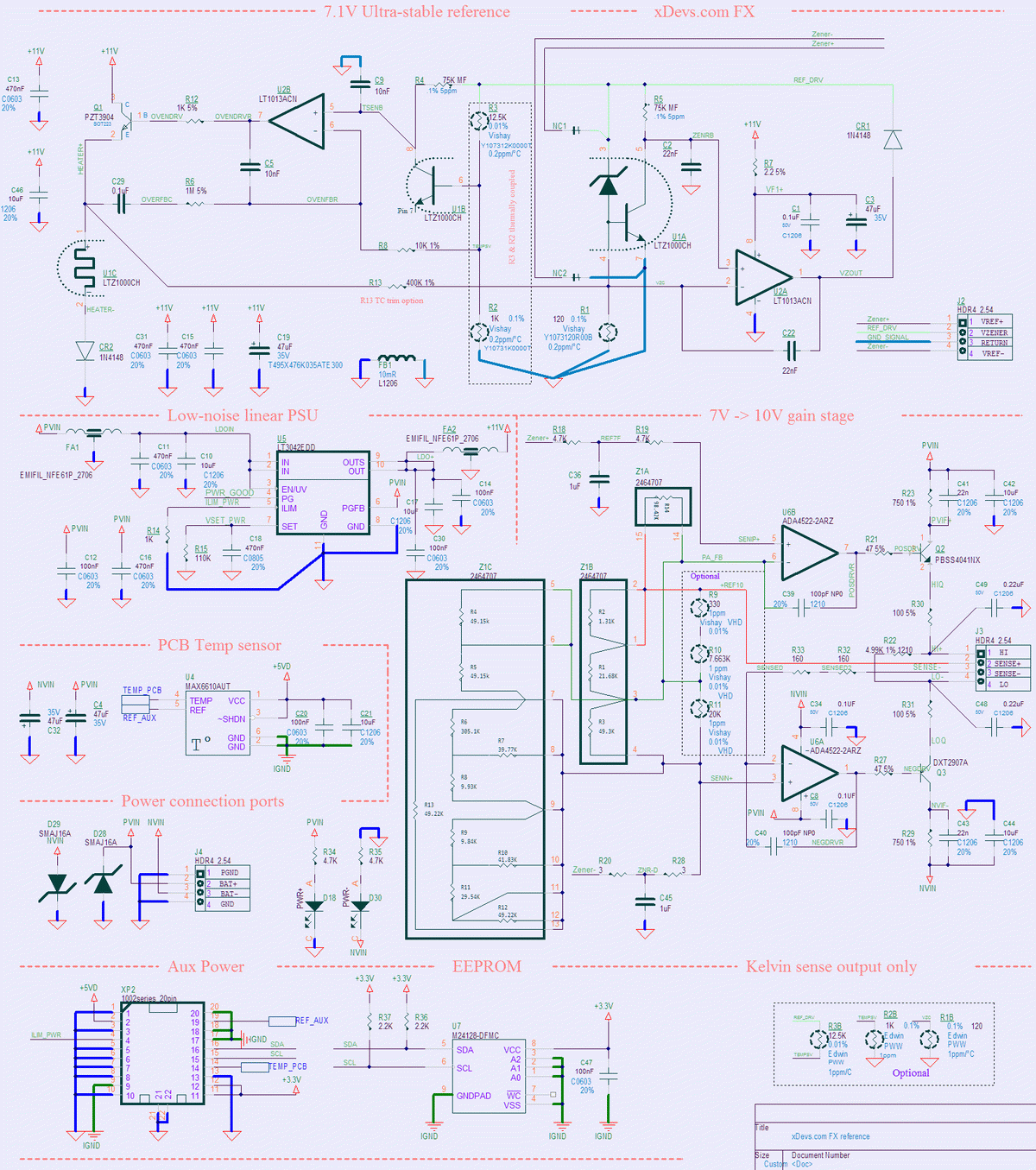 Project 792x 10v Fx Reference And Fluke 792a Support 2n2907 In The Reverse Unit Schematic Circuit Diagram Datasheet Image 2 Dc Voltage Schematics