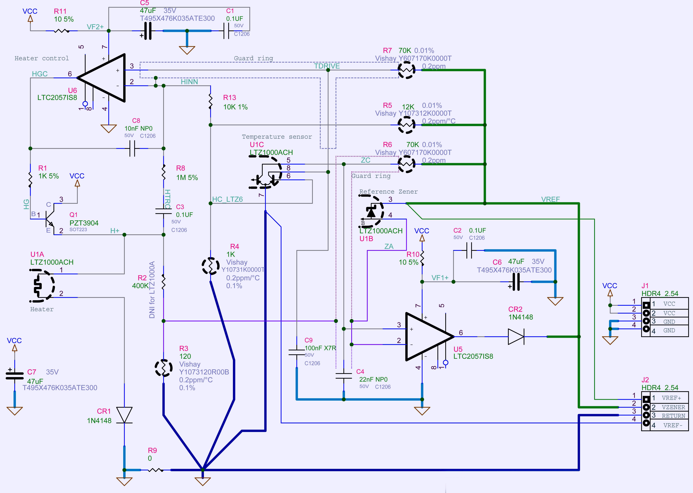 xDevs.com | xDevs.com KX LTZ1000-based DC Voltage reference design