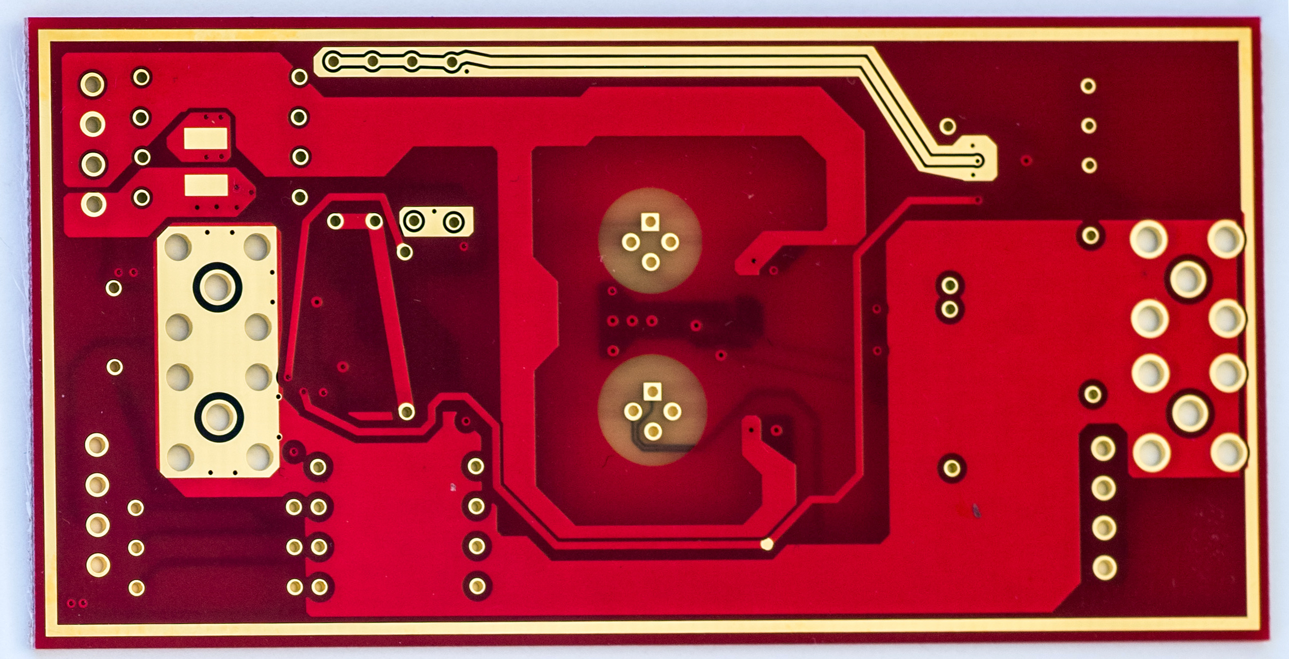 Kx Ltz1000 Based Dc Voltage Reference Design Variable Image 3738 Low Cost Revs00 Bare Pcb Top And Bottom Side