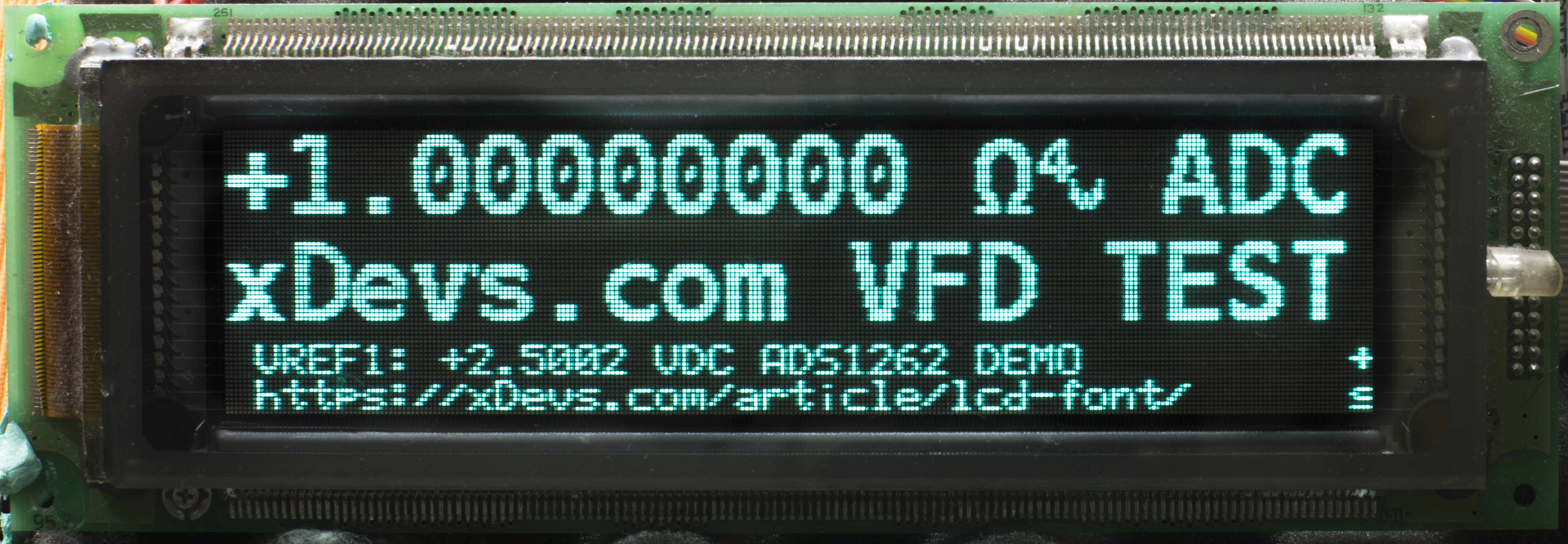 xDevs com | LCD font generation with font examples