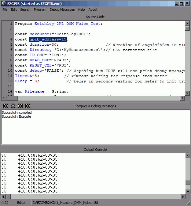 xDevs com | DMM noise measurement test project