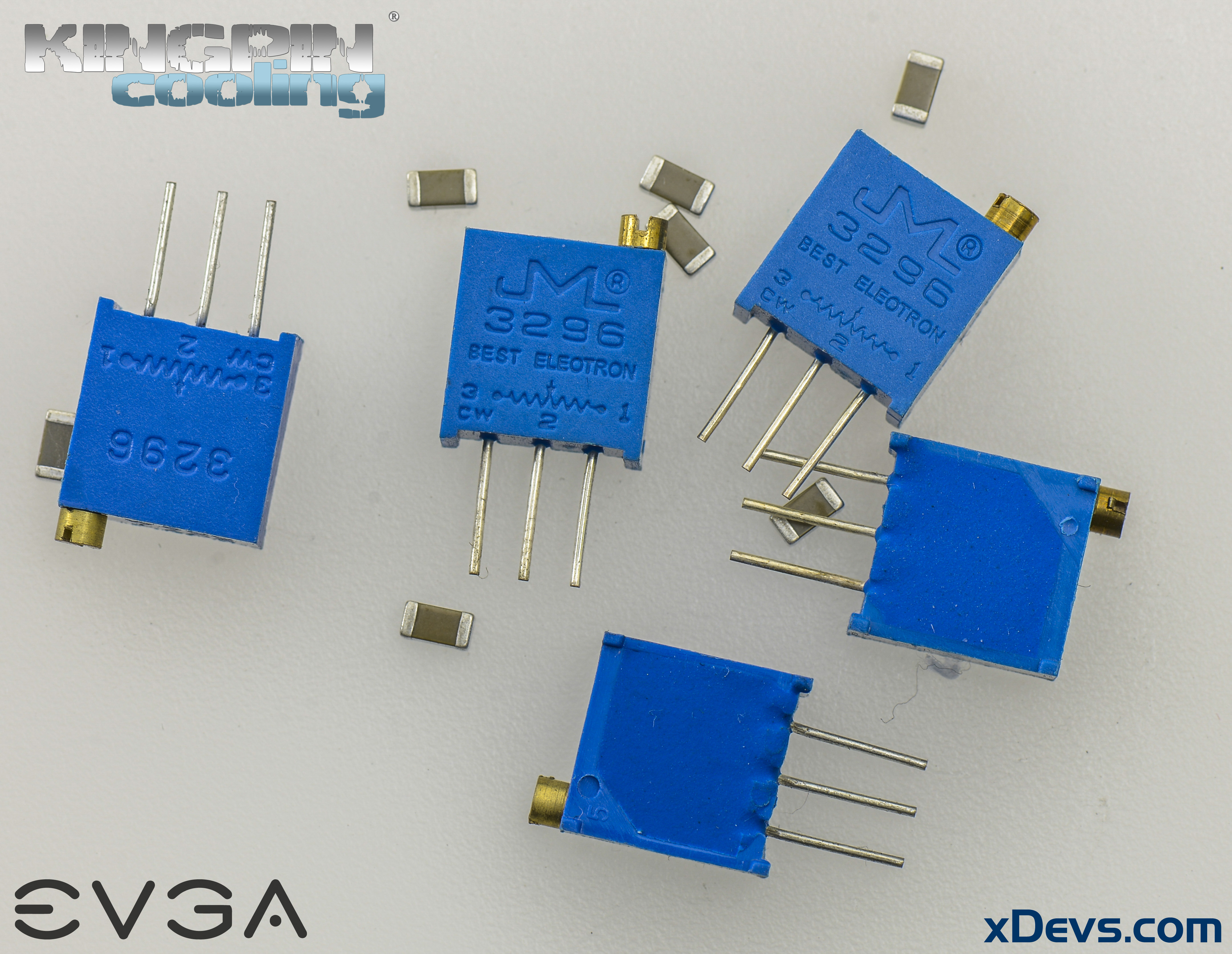 Extreme Oc Modifications For Evga Geforce Gtx 1080 1070 Fe 5 Phase Stepper Motor Wiring Diagram Image Trimmer Resistors And Ceramic Capacitors Example