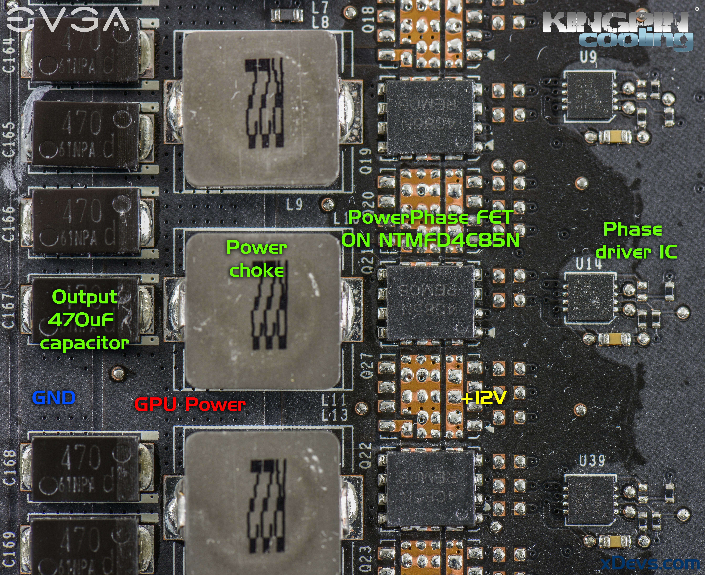 xDevs com | Extreme OC modifications for EVGA GeForce GTX 1080/1070 FE